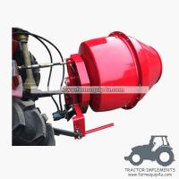 5HCM - 3 point hitch mounted hydraulic motor driven Cement Mixer Concrete mixer