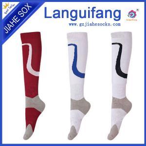 China custom men knee high football socks ,athletic team soccer socks on sale
