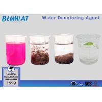 China Low Price Water Decoloring Agent For Bangladesh Effluent Treatment wholesale