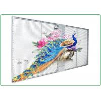 Buy cheap P10 Indoor Advertising Led Display Transparent Led Panel with Remarkable Visual Performance from wholesalers