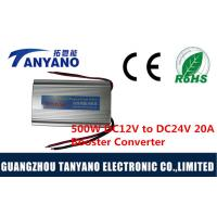 China 12V To 24V 20A Booster Step Up Dc Dc Voltage Converter 500W For Military / Industry wholesale