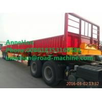 China SHMC 3 AXLES DOUBLE FUNCTION CONTAINER SEMI TRAILER 30000KG LEG Q235 Steel Material on sale