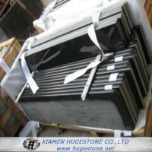 China Absolute black granite, Shanxi black granite Bathroom Countertop on sale