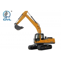 China Strong 20t Digger XCMG XE200C Mining Excavator For Sale  New Crawler Excavator Yellow Colour wholesale