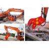 China Béton hydraulique de pulverizer de démolition de pinces de pulverizer d'attachement d'excavatrice de BEIYI HC120 wholesale