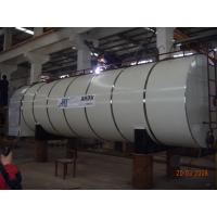 China Industrial Bitumen Storage Tank Automatic Burner Hot Asphalt Heating Tank on sale