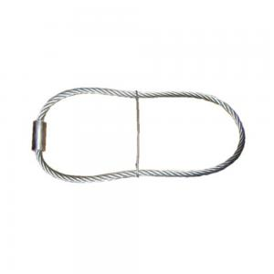 China Galvanized steel wire rope sling lifting anchor for concrete construction on sale