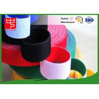 China Wide 50mm double sided sticky hook and loop tape , super strength hook and loop different colors wholesale