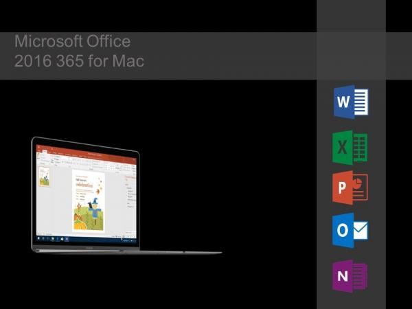 Quality Microsoft Office 2016 365 for Mac for sale