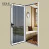 China Rectangle Aluminium Sash Windows , Stainless Net Anodized Bronze Aluminum Windows wholesale