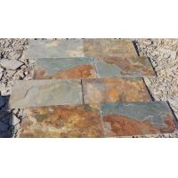 China China Multicolor Slate Floor Tiles Rusty Slate Paving Stone for Walkway Driveway wholesale