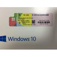 China German Language Windows 10 Pro OEM Pack Sticker With 64bit 1pk DSP DVD wholesale