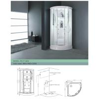 China Luxurious Fixed Framed Glass Multifunctional Shower Room / Size: 80 * 80 * 195  wholesale