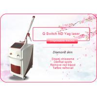 Tattoo Removal 1064nm 532nm Q Switch ND YAG Laser Machine , CE Approved