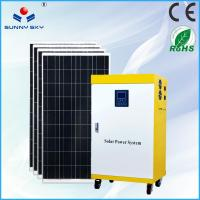 China solar air conditional 1kw residential solar power kit home solar power system solar generator wholesale