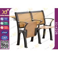 China Wood Board Aluminum Alloy Frame College Classroom Tables And Chairs wholesale
