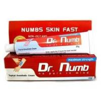 China Dr.Numb Pain Relief Topical Pain Tattoo Anesthetic Cream wholesale