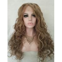 Youthful Fascinating Sexy Long Wavy Lace Front Wig Synthetic Hair 24 Inches