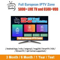 China Full European IPTV Zone  iptv subscription Canada USA Europe support android ios mag device wholesale