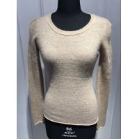Slim Fitting Womens Cashmere Sweaters Anti Shrink OEM / ODM Available