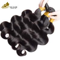 China Onda coloreada pelo real 8 del cuerpo de las extensiones del pelo de la Virgen del 100%  --  32 pulgadas wholesale