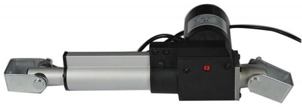 Quality Push Rod Brushless DC Motor 24 Volt Electric Linear Actuator In Black for sale