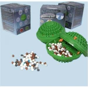 China negative ion far infrared green washing ball wholesale
