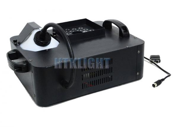 Quality Musical Concert 1500 W LED Fog Machine / LED 500 Smoke Machine for sale