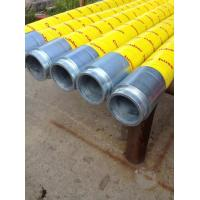 China Durable Concrete End Hose 15mm-16mm Thickness , 85 Bar Working Pressure wholesale