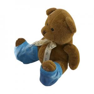 Buy cheap Le bleu hydratant des chaussettes de gel/gel a rempli chaussettes de station from wholesalers