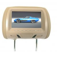 China cheap 7 inch and 9 inch car headrest dvd player with sd, usb, aux, game function on sale