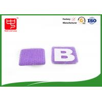 China Small hook and loop Alphabet Letters Silk printing AB letters for kid' s formative education wholesale