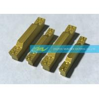 China 2.0 Mm Parting Carbide Grooving Inserts With Perfect Edge Stability wholesale