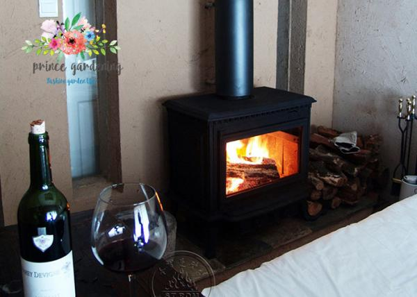 Quality Copper Black Cast Iron Gas Fireplace for sale