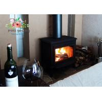 China Hot-selling copper black  wood cast iron heating fireplace insert wholesale