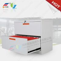 China Lateral filing cabinet FYD-KK001 With 2 drawer,KD strucure,Powder coating,white color on sale