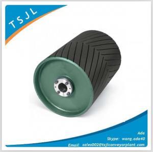 China Herringbone rubber coat pulley on sale
