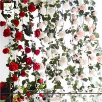 China UVG CHR148 Factory direct sales floral arrangements rose flower artificial vine for home furnishing decoration wholesale