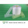 China Fil tourné Ne50s/2 de polyester tourné par anneau blanccru de fils de polyesters de Vierge wholesale