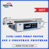 China Large Format UV flatbed 3D wall tiles printer 3D floor printer,3d dolphin wall tiles printing machine on sale
