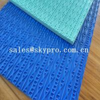 China Custom Shoe Sole Rubber Sheet various color skidproof rubber wholesale