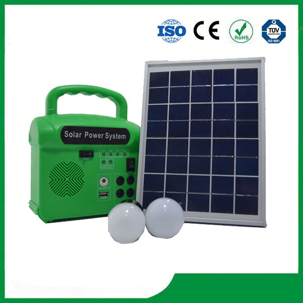 Quality Home Lighting Solar System,With Radio,LED lamp ,Cell Phone Charger, Solar System Price for sale