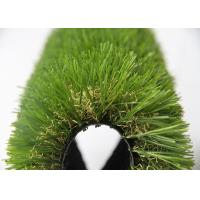 China Childhood 25MM Fake Grass For Outside , Turf Synthetic Grass Rug 9600 Dtex wholesale