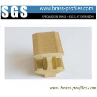 China Brass Extrusion Sanitary Ware Profiles Special Shaped Copper Alloy Extrusion wholesale