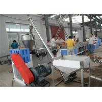 Buy cheap Double Screw Door Frame WPC Profile Production Line Omron Temperature Control from wholesalers