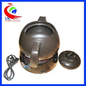 China 4L 電気スープやかんの紫色の砂水やかん/商業食糧装置 wholesale