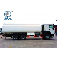 China Sinotruk 16m3 Capacity Radial Tyre Fuel Oil Transportation Trucks 6X4 LHD Euro 2 336HP Lengthened Cab wholesale