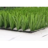 China Monofil PE Yarn Green Artificial Grass manufacturer For Sports , Football Field Artificial Turf wholesale
