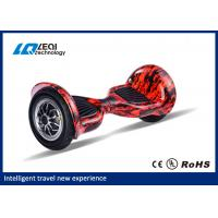 China All Terrain 10 Inch Tire Hoverboard , Two Wheels Smart Self Balancing Scooters wholesale