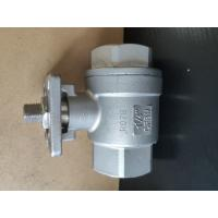 China 2 Piece Type Threaded Stainless Steel Ball Valve Manual / CF8M 1.4408 RPTFE 1000WOG BSPP on sale